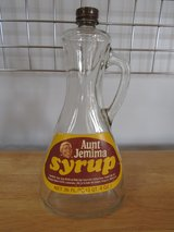 Aunt Jemima Syrup Bottle in Chicago, Illinois