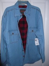 DENIM SHIRT/JACKET , LINED  nwt in Cherry Point, North Carolina
