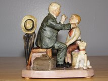 Norman Rockwell Figurine Country Doctor~Reduced in Sandwich, Illinois