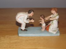 Norman Rockwell Figurine Baby's First Step~Reduced in Yorkville, Illinois