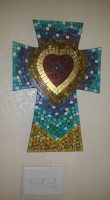 Mosaic Cross in Fort Bliss, Texas