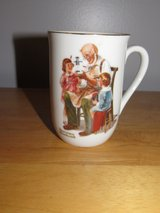 Norman Rockwell Mug~Reduced in Sandwich, Illinois