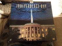 Independence Day Laser Disc in Naperville, Illinois