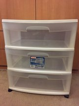 3 Drawer Wide Cart Cabinet with Wheels in Ramstein, Germany