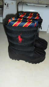 New little boys size 6 polo snow boots in Fort Campbell, Kentucky