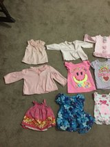 Girl Shirt Tops, Shorts And Pants. New Born to 9 Months in Alamogordo, New Mexico