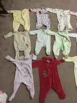Girls Sleepers Or Full Body Outfits. New Born to 9 months in Alamogordo, New Mexico