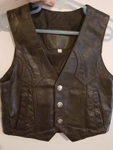 Black Leather Vest size 4t in Spring, Texas