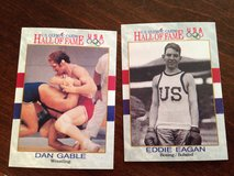 Olympic Wrestling/Boxing Cards in Joliet, Illinois