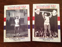 Olympic Weightlifting Cards in Joliet, Illinois
