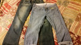 mossimo size 9 jeans lot in Houston, Texas