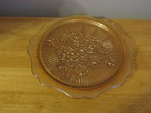 Carnival Glass Plate~Reduced in Sandwich, Illinois