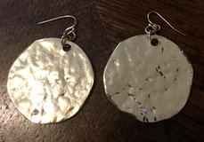 CHICO'S GOLD DISC EARRINGS in Lakenheath, UK