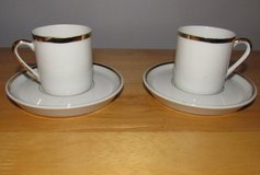 Set of 2 Enesco Demitasse Cups & Saucers~Japan in Chicago, Illinois