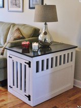 Wood end table pet side night stand dog in Camp Lejeune, North Carolina