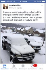 tow shovel or ride- SNOW in Clarksville, Tennessee