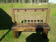 Childrens Western Bench in Livingston, Texas