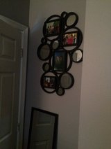 Circle with mirrors frame in Quantico, Virginia