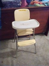 Vintage high chair 60s in Alamogordo, New Mexico