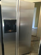 GE Profile Stainless Steel Refrigerator in Tomball, Texas