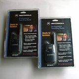 TWO MOTOROLA SPIRIT GT PROFESSIONAL 2-WAY RADIOS NIP in Glendale Heights, Illinois