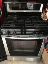 Whirlpool Golden Gas Stainless Steel Stove in Tomball, Texas