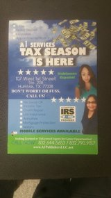 A-1  SERVICES  MAXIMUM REFUND in Houston, Texas