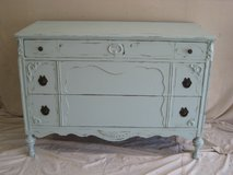 Shabby Chic Antique Chest- Watery in Houston, Texas