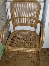WICKER CHAIR, in Yucca Valley, California