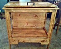QUALITY, one of a kind Quilt Chest crafted with gorgeous Knotty Pine in Beaufort, South Carolina