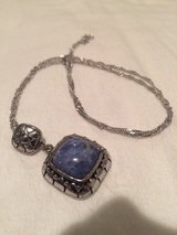 Sodalite necklace in Okinawa, Japan