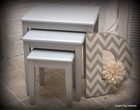 Nesting Tables in Grey in Bolingbrook, Illinois