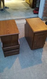 ***2 MATCHING SIDE TABLES WITH MAGAZINE HOLDER*** in Kingwood, Texas