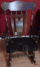 ** ANTIQUE SOLID WOOD ROCKING CHAIR *** in Kingwood, Texas