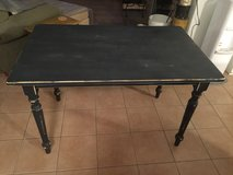 Black Distressed Table in Sandwich, Illinois