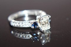 Emerald Cut Diamond Engagement Ring in Naperville, Illinois