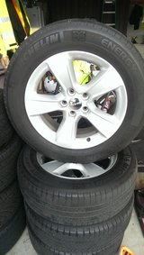 Stock Rims and tires for 2012 dodge charger in Travis AFB, California