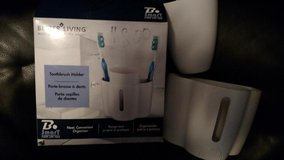 Toothbrush Holder and Cup BRAND NEW in Bolingbrook, Illinois
