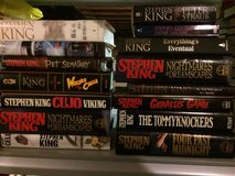 Huge Stephen King hardcover books lot in Naperville, Illinois