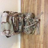 Desert MOLLE pack in Beaufort, South Carolina