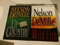 Nelson Demille hardcover books lot in Naperville, Illinois