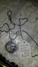 Floating locket necklaces in Houston, Texas