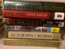 Lot 9 hardcover books in Naperville, Illinois