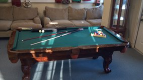 billiards table in Beaufort, South Carolina