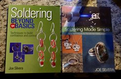 2 BRAND NEW HOW TO SOLDER BOOKS FOR JEWELRY MAKERS in 29 Palms, California