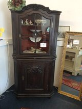 Baroque corner cabinet oakwood hand-carved from 1750 Germany in Ramstein, Germany