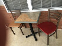Restaurant table and chairs in Fort Leonard Wood, Missouri