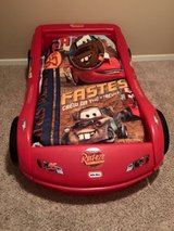 Toddlers Cars bed & bedding in Clarksville, Tennessee