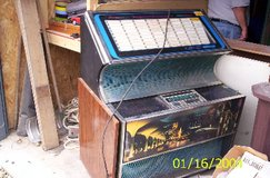 For sale: Rockola Model 448 Juke Box, 1971-72, (Needs Keys) Loaded with Vintage 45 Rpm Records, ... in Quad Cities, Iowa