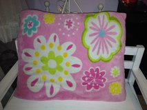 LARGE Girls pink & flowers decorative bed room large pillow in Naperville, Illinois